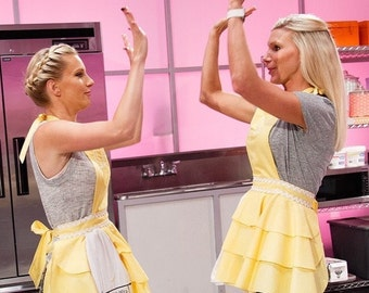 """The""""Heather Morris"""" Diva Apron Embroidered!"""