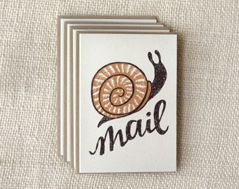 Note Card Set - Snail Mail