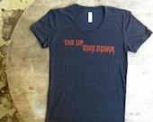 Stranger Things inspired American Apparel women's tee. The upside down tribute tshirt