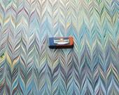 マーブル紙, carta marmorizzata ,   cm 50 X 70  - 810