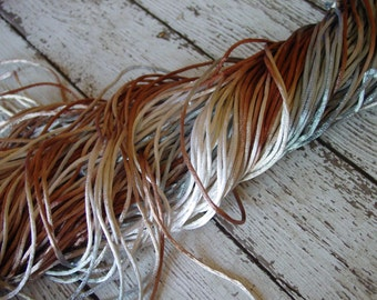 NEW - Hand-dyed Silky Cord in JOURNEY, 6 yards