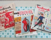 3 Fabulous Vintage McCall's Needlework and Crafts magazines from the 50's and 60's