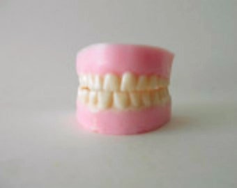 False Teeth Soap, dental hygienist, dental assistant, handmade soap, dental gifts, dentists gift, dentures, dental hygiene