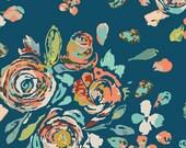 Art Gallery - Fleet & Flourish Collection - Swifting Flora in Swell