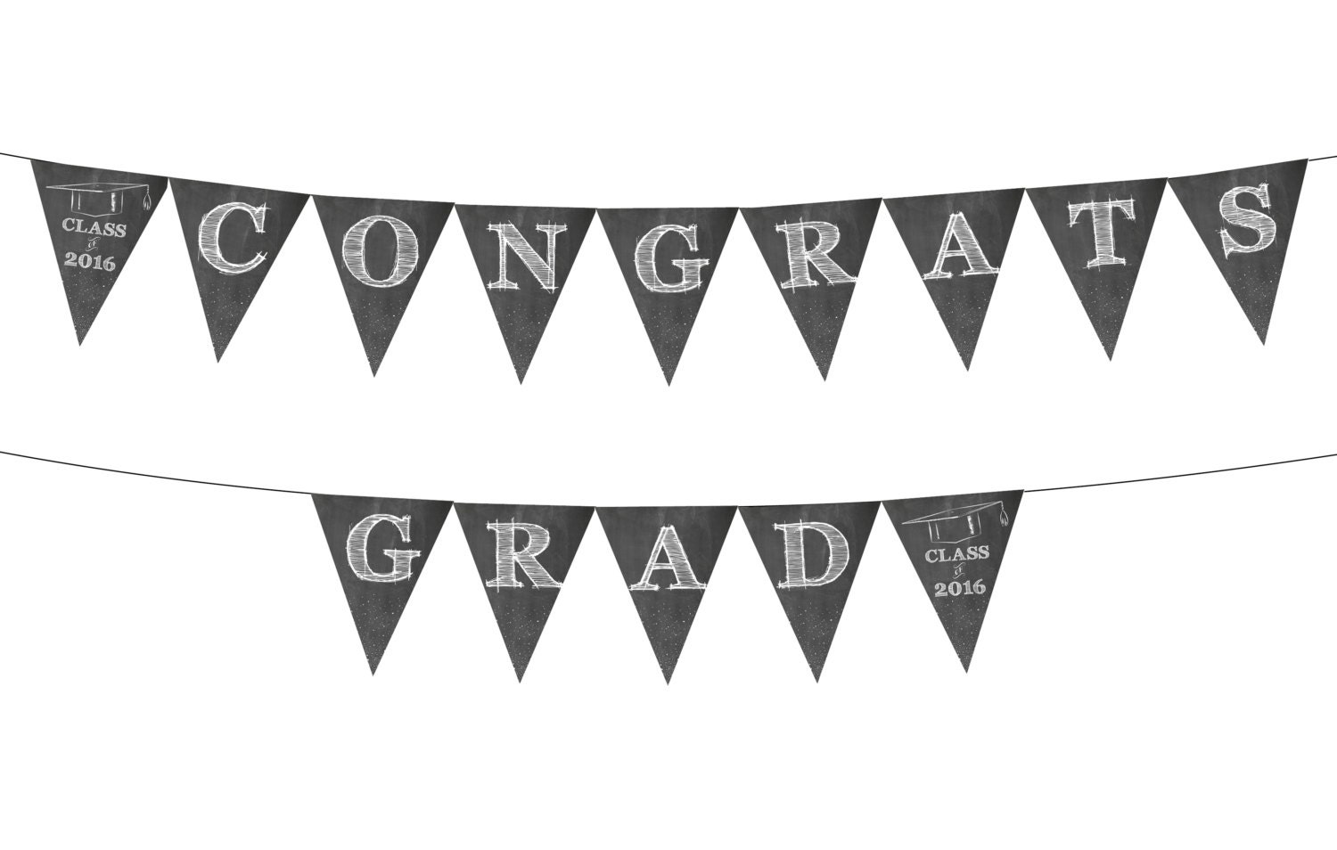 Graduation Banner Printable Instant Download Party