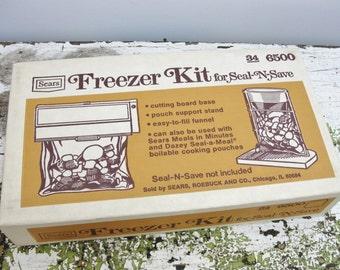 Vintage Seal-a-Meal Freezer Kit