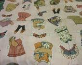 Paper Dolls Yardage 10 1/2 yards by Sheryl Marquez for Marcus Fabrics