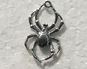 Spider Charm Light thin Lead free Nickel Free