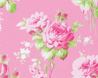 Rose Bouquet Sadies Dance Card by Tanya Whelan.. PWTW122 Carna  ... pink colorway Your choice of cut ..