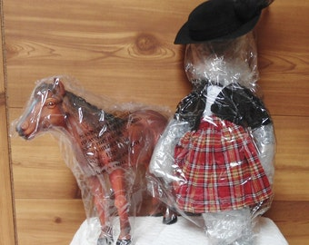 Heritage Signature Collection Doll in Box~~Sarah and her Pony w/Original Box, COA