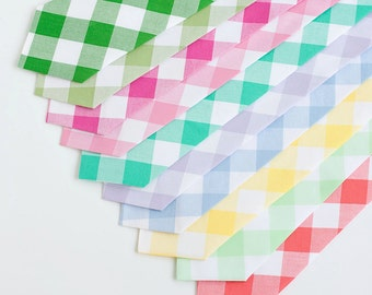"""Necktie, Neckties, Mens Necktie, Neck Tie, Mens Necktie, Groomsmen Necktie, Ties, Neck Ties, Wedding Neckties - 1"""" Gingham Check Collection"""