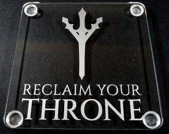 Geeky Housewares - Final Fantasy XV Reclaim Your Throne Coaster