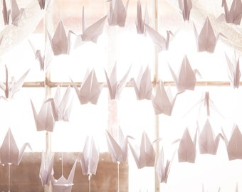 Paper Cranes, Wedding decorations, Origami Cranes, decorations, Backdrop, Origami birds,