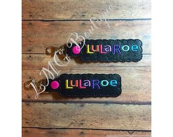 LuLaRoe Key Chain. Personalized LuLa Roe key fob, key chain, LuLaRoe party, Party favors