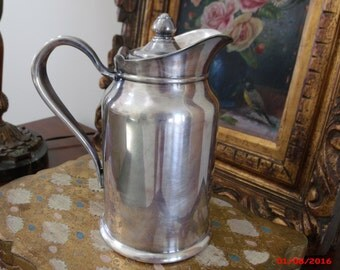 Vintage Reed and Barton Hotel Silver Camelback Inn Insulated Coffee Pot Milk Pitcher Silver Soldered