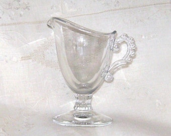 Candlewick Creamer, Crystal Color by Imperial Glass