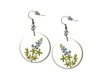 Bluebonnet Earrings Texas Earrings