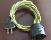 Amazing Eagle Brand Cloth-Covered Bakelite Extension Cord
