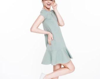 SALE - LeMuse MINT Rayon Dress TENNIS