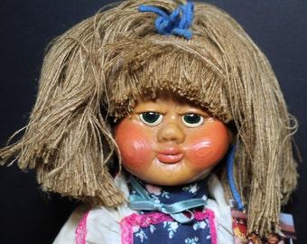 Vintage Doll // Naber Kids Doll // Frieda With COA