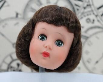 Vintage Vinyl Doll Head AE 170 // 11 Allied Eastern Fashion Doll Supplies