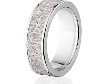 Meteorite Ring w/ Strengthened Titanium, Satisfaction Guarantee: Meteorite-Ring-7F