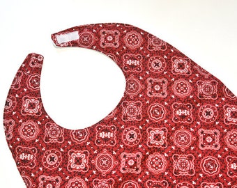 Ladys Adult Bibs For Elderly Mom Gift for Grandma Makeup or Lobster Eating, Special Needs