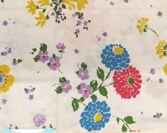Vintage Colorful Bouquet Pillowcase