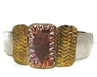 Vintage All Metal Crafted Artisan Belt