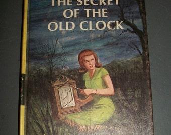 Vintage Nancy Drew Book 1 The Secret of the Old Clock