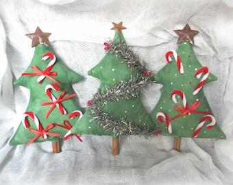 Christmas bowl fillers   Primitive Christmas tree   Christmas decor   Tree Ornament   Prim Ornament   Christmas Ornament   Prim Christmas
