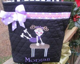 Personalized Gymnastics Bag