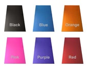 20 GA Anodized Aluminum Strip - 12 x 2 Inch Strip - choose from 6 colors - use as bracelet blanks or cut into charms, pendants or discs