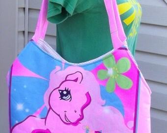 My Little Pony Tote/ Bag  OOAK  MLP  Pinkie Pie    Hasbro