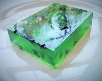 White sage sea salt soap