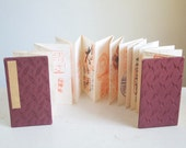 Vintage Shuincho, Red Stamp Book, Tourist Souvenir of Japanese Buddhist and Shinto Shrines, Circa 1965, Full Book