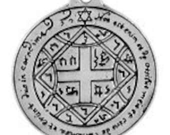 COME TO ME Love pendant occult symbol
