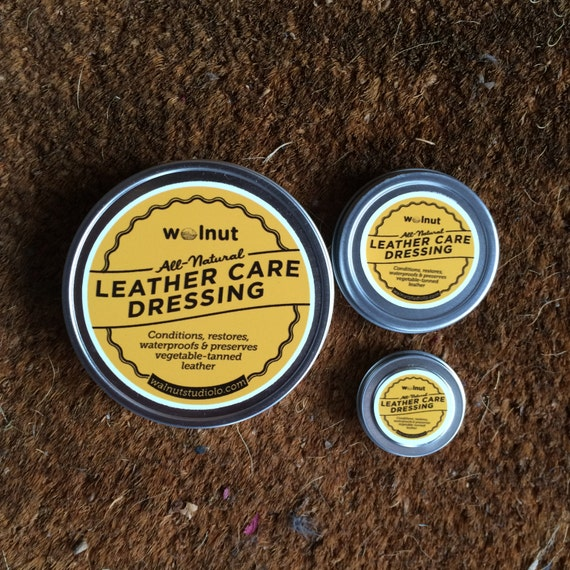 Leather Care - Beeswax Leather Conditioner