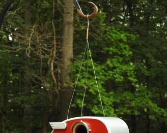 Vintage Birdhouse Hanger