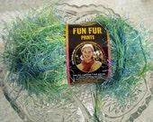 Lion Brand Fun Fur Prints, Eyelash Yarn  Color 207, Citrus, 1 balls available