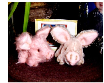 Pocket teddy piggies, 2inches, German