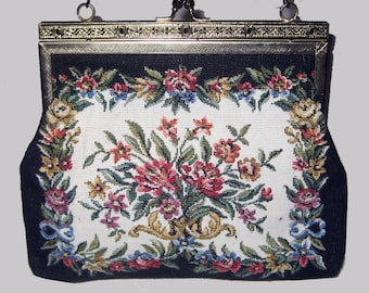 Small vintage Tapestry Purse