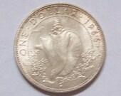 Bahamas 1966 Silver Dollar Coin Conch Shell