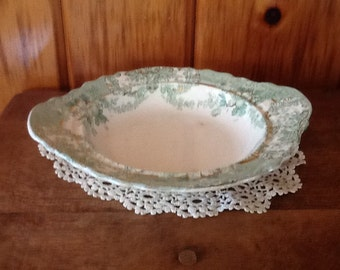 Wood & Sons Bowl Antique Porcelain Glenwood England SALE
