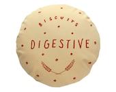 Chocolate Digestive Printed Cushion