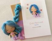 Sapphire - Chibi Mermaid Pattern Kit
