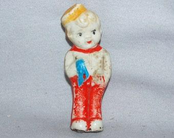 Vintage / Bisque / Doll / Bell Boy / Frozen Charlotte /  Penny Doll / Vintage Dolls