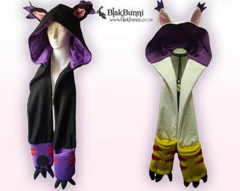 MADE TO ORDER Kitty Cat Fursuit Scoodie Snoot Gatomon Digimon