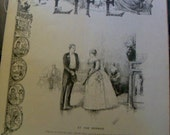 Victorian Era Life Magazine 1887 Antique Original Magazine Art Illustrations Articles Cartoons
