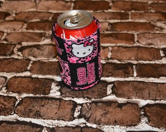 Hello Kitty Can/Bottle  Cozy